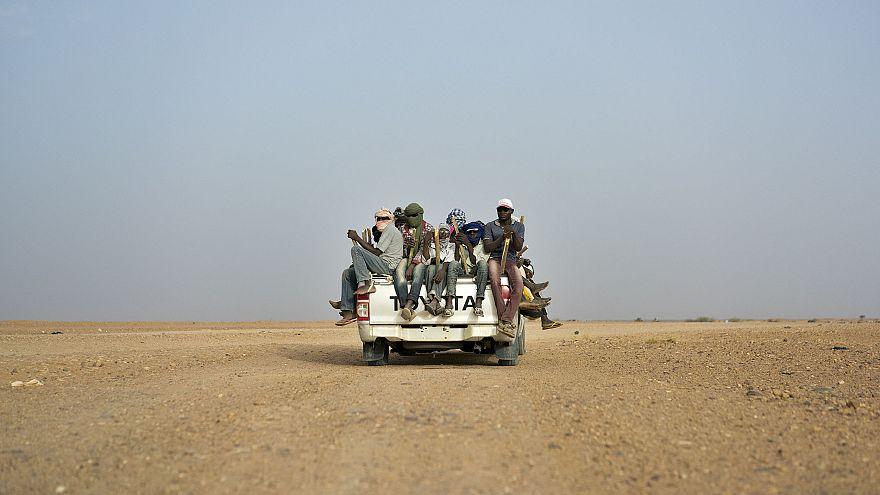 Image: Migrants in Algeria
