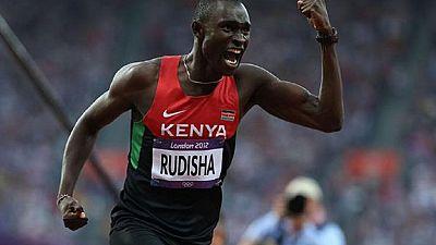 Athlétisme : le Kényan David Rudisha veut entrer dans l'histoire