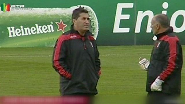 José Peseiro sur le banc du FC Porto
