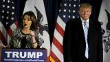 "Palin calls for voters to ""stump for Trump"""