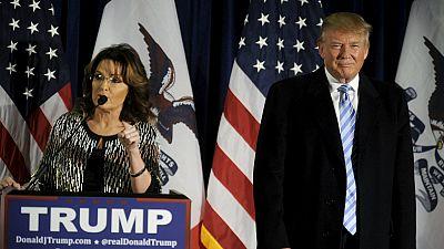 Sarah Palin appoggia la candidatura di Donald Trump