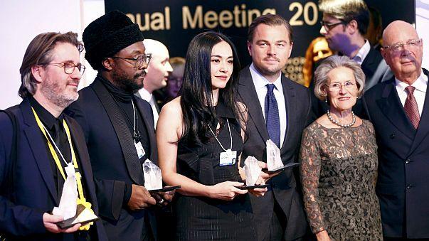 Davos 2016: Desigualdade social em debate com DiCaprio em ação
