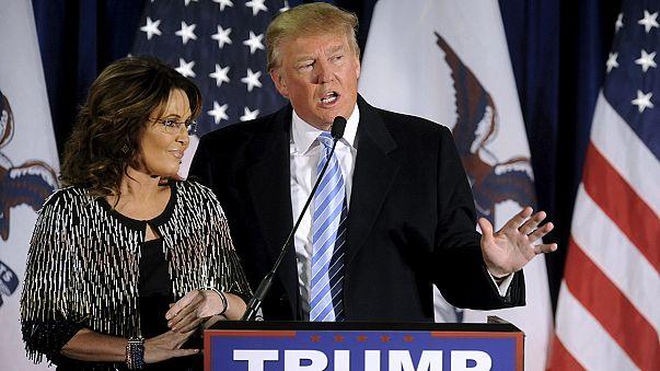 Donald Trump y Sarah Palin unen fuerzas