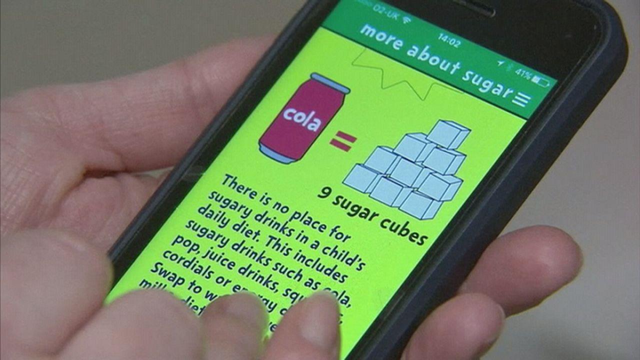 Mit einer App gegen zu hohen Zuckerkonsum