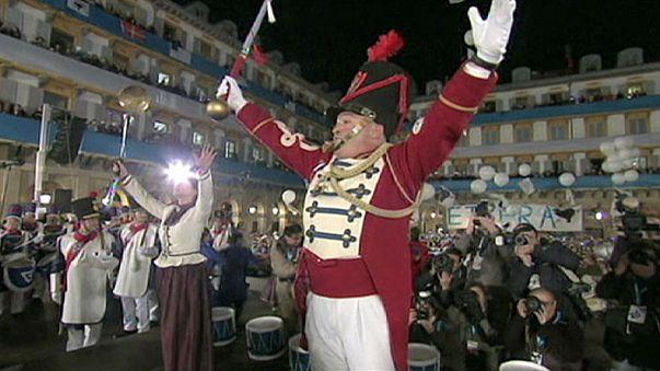 San Sebastián celebra su Tamborrada más europea
