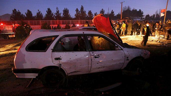 Kabul: merénylet az esti csúcsforgalomban