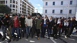 Les chômeurs tunisiens en colère