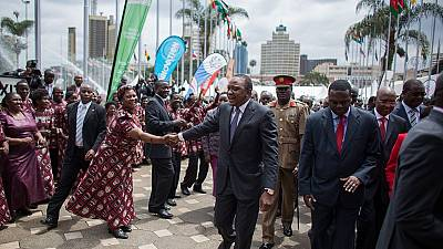 Le président Uhuru Kenyatta, un leader très populaire sur Facebook