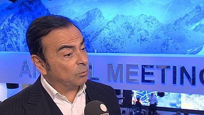 Renault's Carlos Ghosn on autonomy, connectivity and safety at the wheel