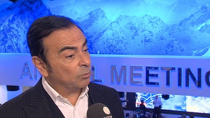 Давос: глава Renault Nissan Карлос Гон о технологиях будущего
