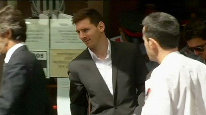 Májusban kezdődik Messi pere