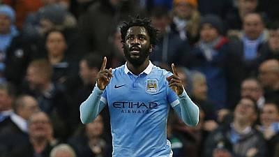 Wilfried Bony dismisses transfer talk: 'happy at Man City'