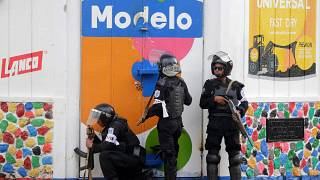 Image: NICARAGUA-UNREST-STRIKE