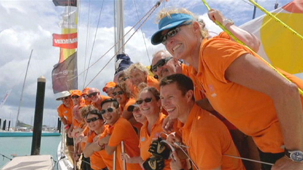 Clipper Race: LMAX Exchange segue na frente rumo à China