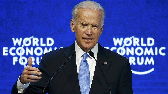 Joe Biden urges executives at Davos to end LGBT repression