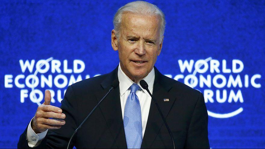 Joe Biden urges executives at Davos to end LGBT repression