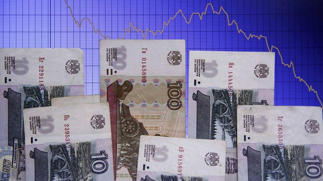 El rublo se desploma hasta mínimos históricos