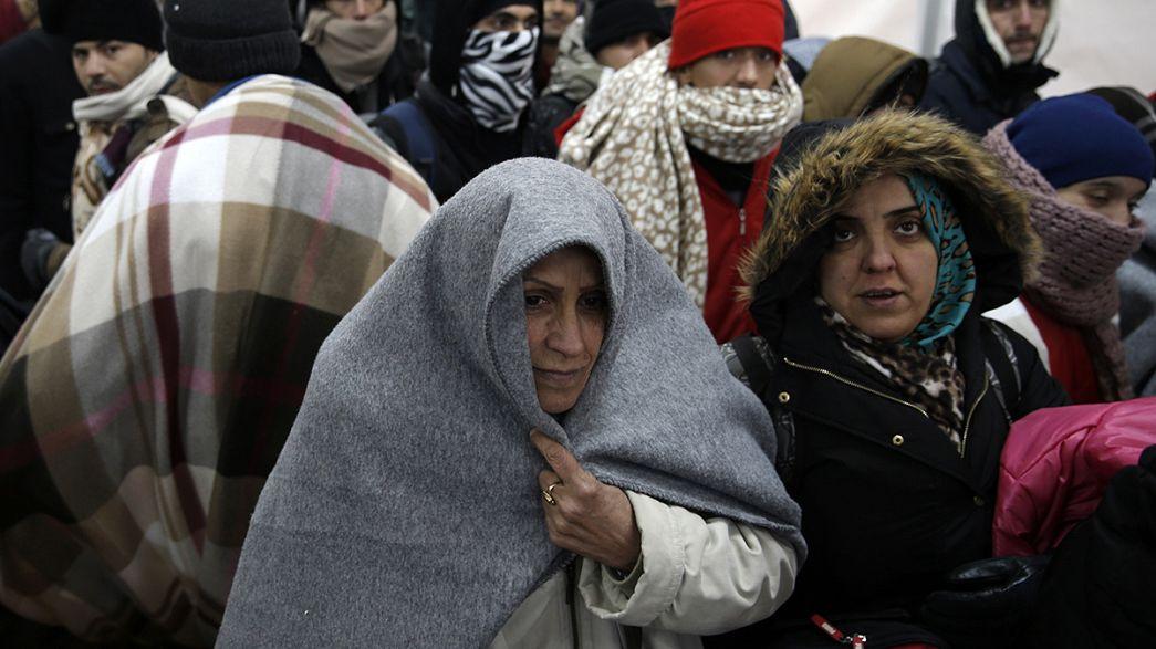 Migração: Alemanha opõe-se à Áustria e chegadas à Grécia aumentam 2100 por cento