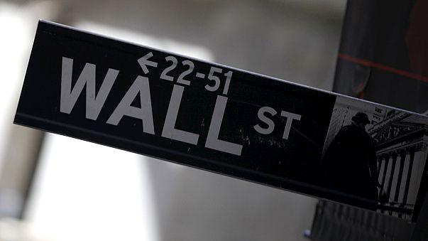 Pánikhangulat a Wall Streeten