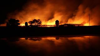 South Africa: Fire ravages Capetown