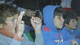 Visita ai profughi di Zaatari
