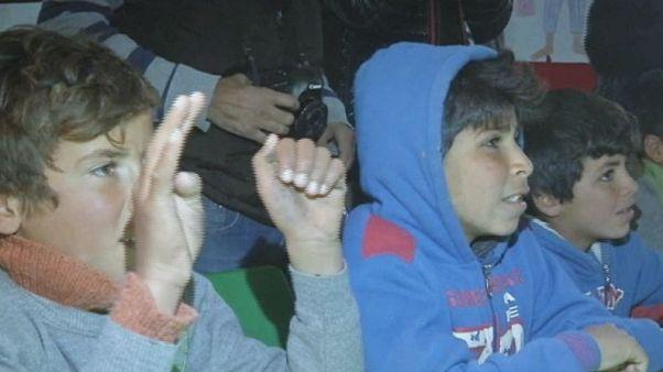 بازدید رئیس مجمع عمومی سازمان ملل از اردوگاه آوارگان زعتری در اردن