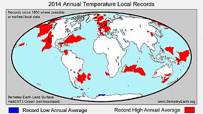 2015 was world's hottest year on record
