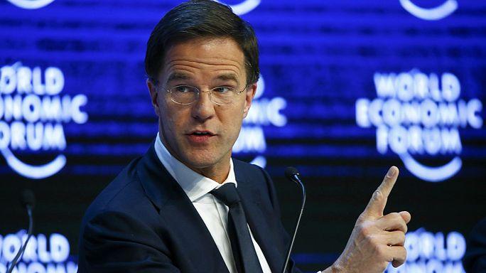 Terítéken a bevándorlásügy Davos-ban
