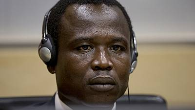 Former LRA commander Ongwen in court at The Hague