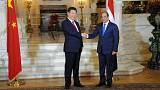 China's President Xi offers financial and political support to Egypt's Sisi