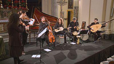 Los instrumentos del Festival de Música Barroca de La Valeta
