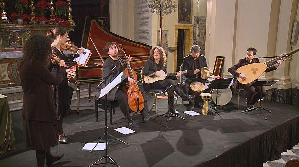کنسرت ماهان اصفهانی در جشنواره موسیقی باروک مالت