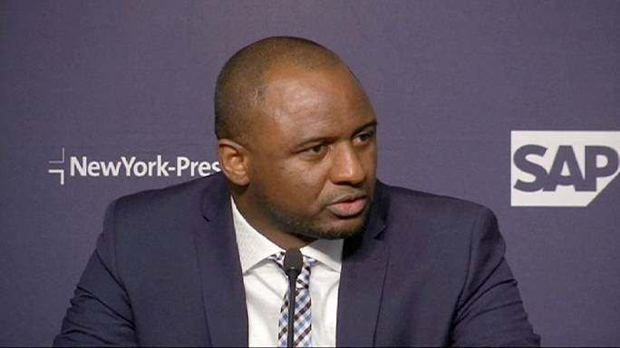 Vieira unveiled as head coach of New City FC