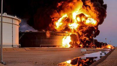 Islamic State militants attack Lybia's Ras Lanuf oil terminal