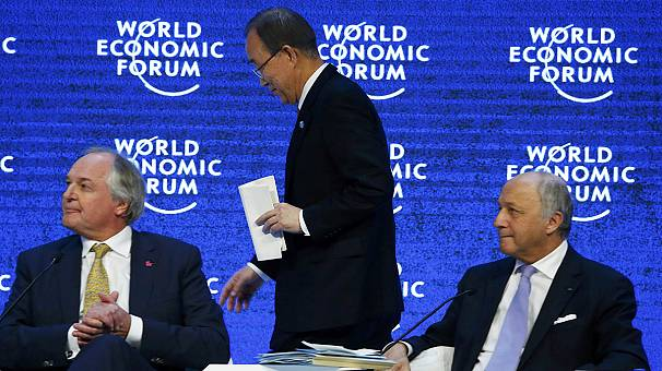Davos: nations urged to adopt Paris climate accord