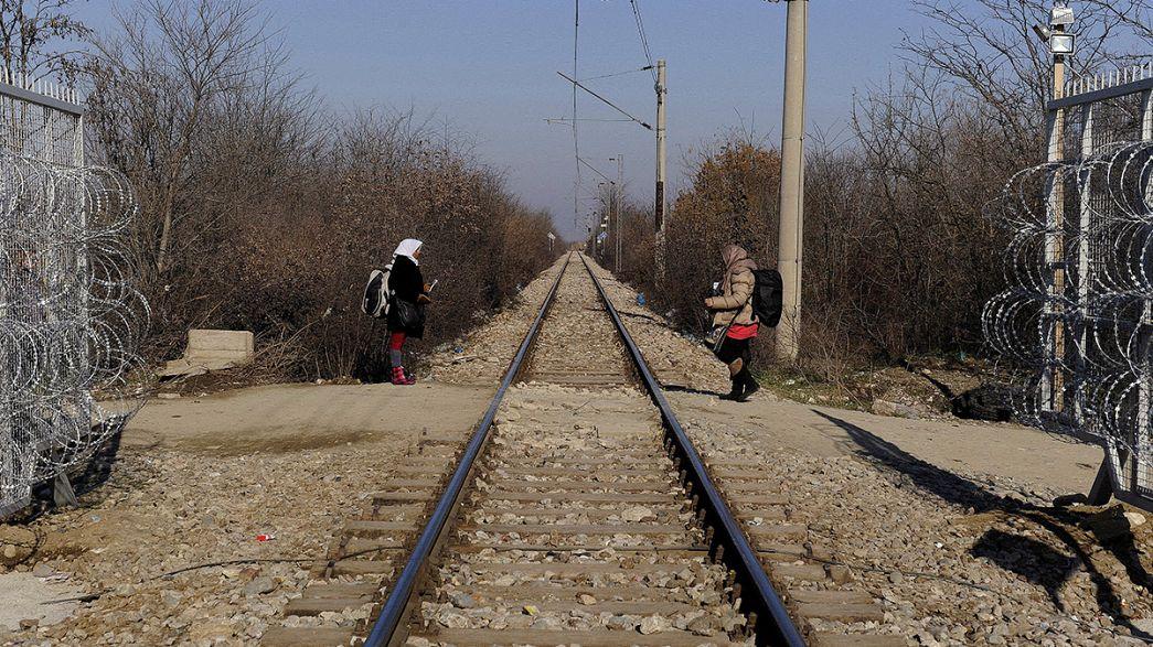 Tras Macedonia, Croacia y Eslovenia dicen que sólo aceptarán a migrantes cuyo destino final sea Alemania o Austria