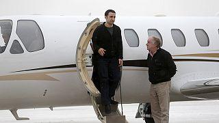 Американцы, выпущенные из иранских тюрем, возвращаются домой