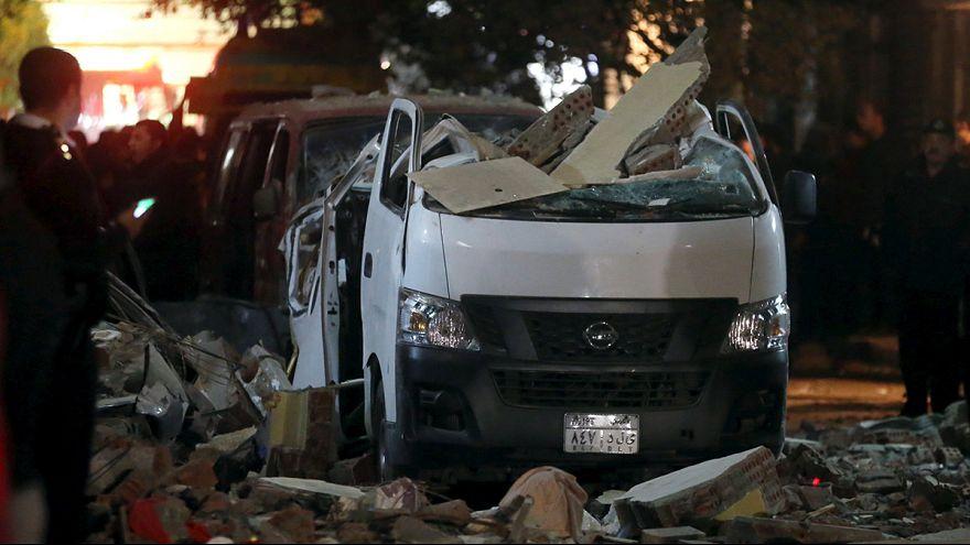 Египет: взрыв в Гизе во время полицейской операции