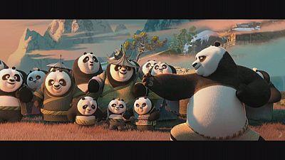 'Kung Fu Panda 3' hits silver screens