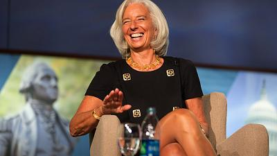 IMF's Christine Lagarde confirms second term bid