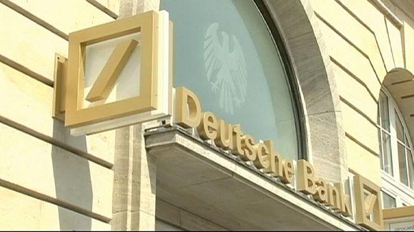Deutsche Bank in der (roten) Tinte