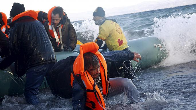More than 40 refugees drown as their boats capsize off Greece