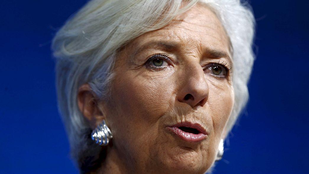 Lagarde opta a un segundo mandato al frente del FMI, pese a su imputación en Francia