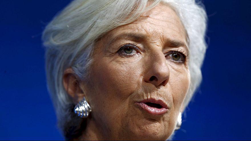Christine Lagarde candidata-se a um segundo mandato no FMI