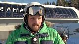 """""""Slalom"""" do clima não embala esquiadores de Davos"""