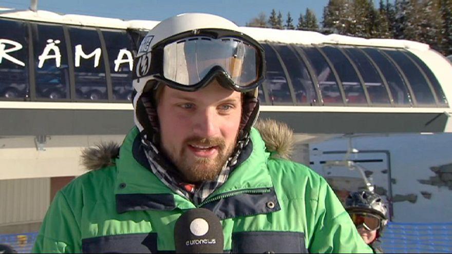 Was denken die Menschen auf den Skipisten von Davos über das Weltwirtschaftsforum?