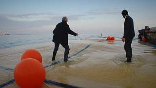 Bolsas gigantes: ¿la solución para transportar por mar el agua potable?