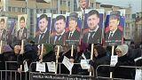 Szervezett spontán tüntetés a csecsen elnök mellett