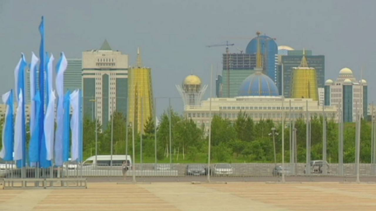 Davos: Kazakhstan seeks slice of new industrial age
