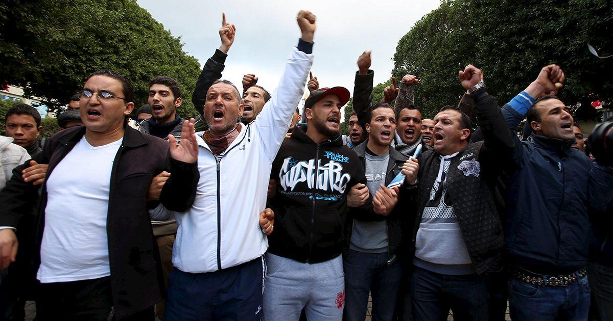 Porte couvre feu tunisie